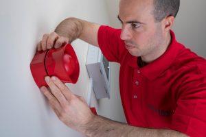 Fire alarm sounder bell