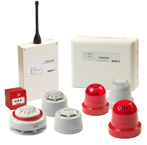 Wireless fire alarm systems - FireCell components