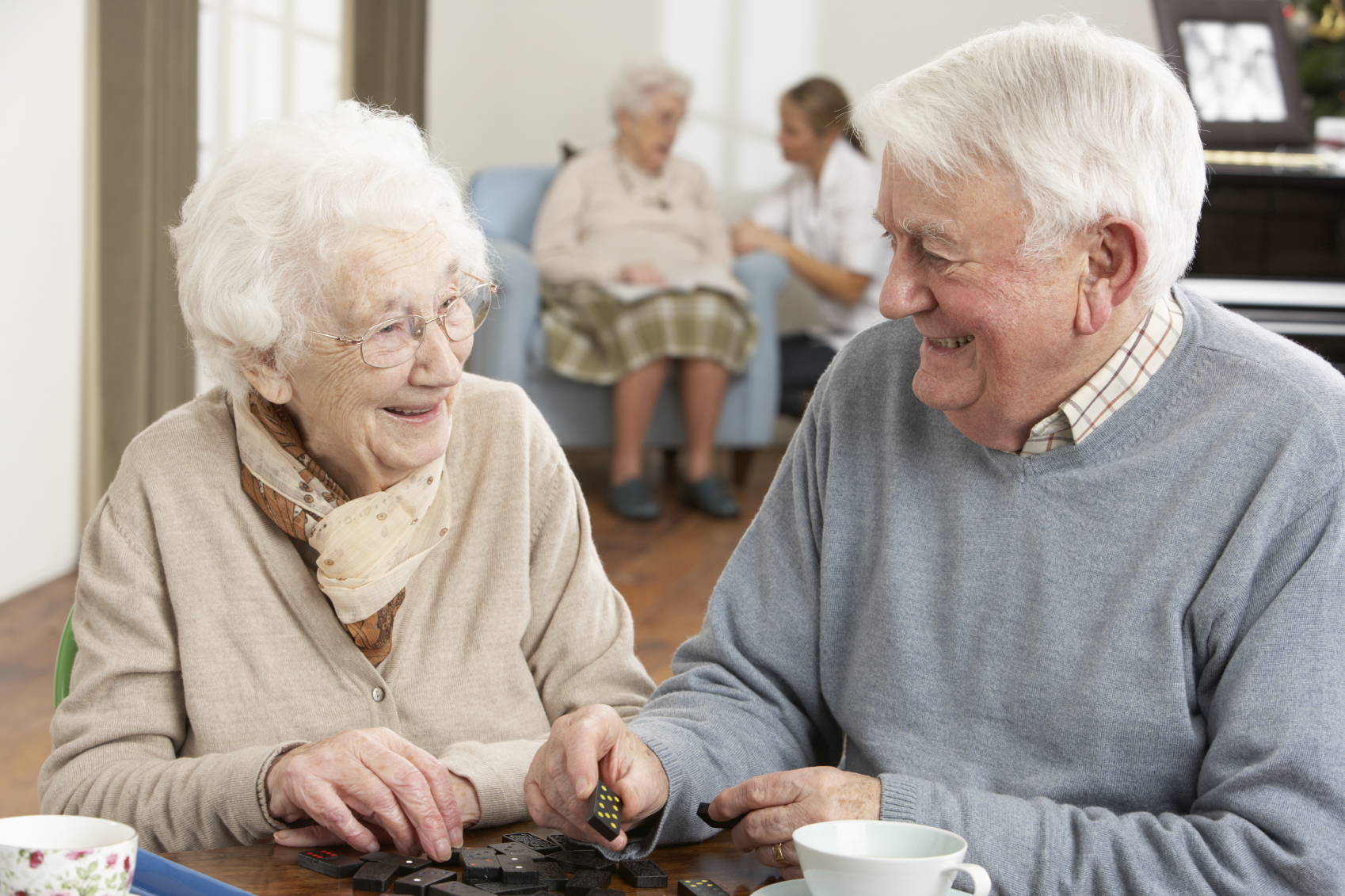 People in care home